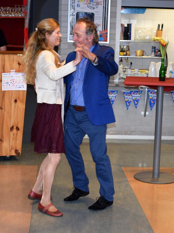 Dansje met Margareth