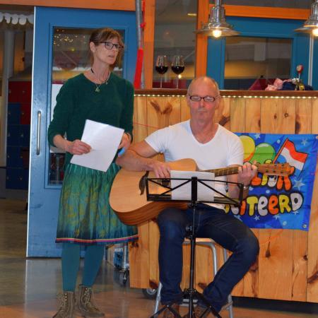 Jos en Margreet zingen